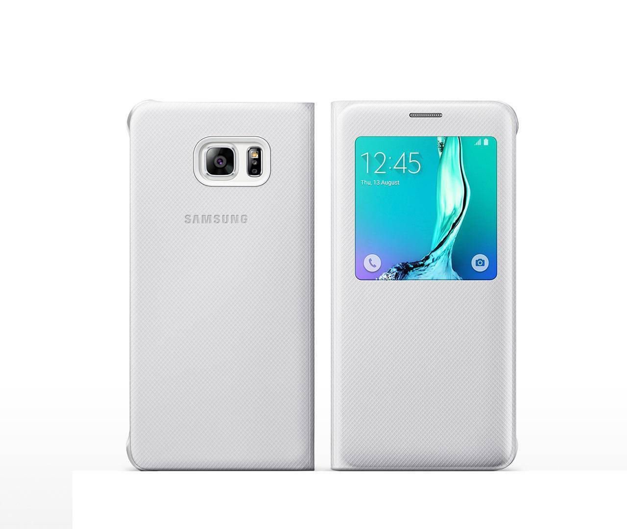 samsung galaxy s6 edge white. samsung s view cover case for galaxy s6 edge plus | walmart canada white l