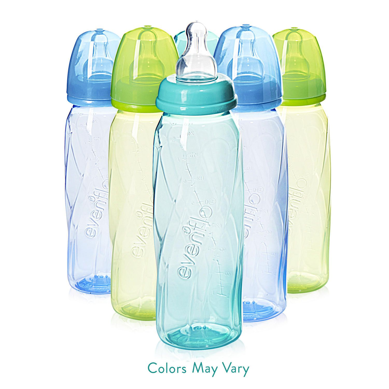- New Evenflo Vented 4 oz Baby Bottles Pack Of 3