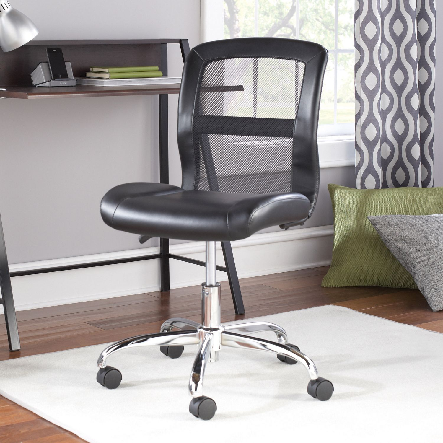 Astounding Mainstays Vinyl And Mesh Task Office Chair Ocoug Best Dining Table And Chair Ideas Images Ocougorg