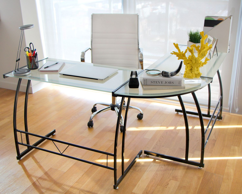 glass home office desks. Glass Home Office Desks G