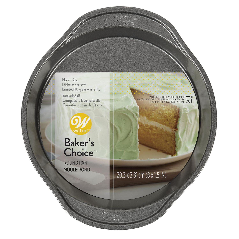Wilton Baker S Choice Non Stick Bakeware Round Cake Pan