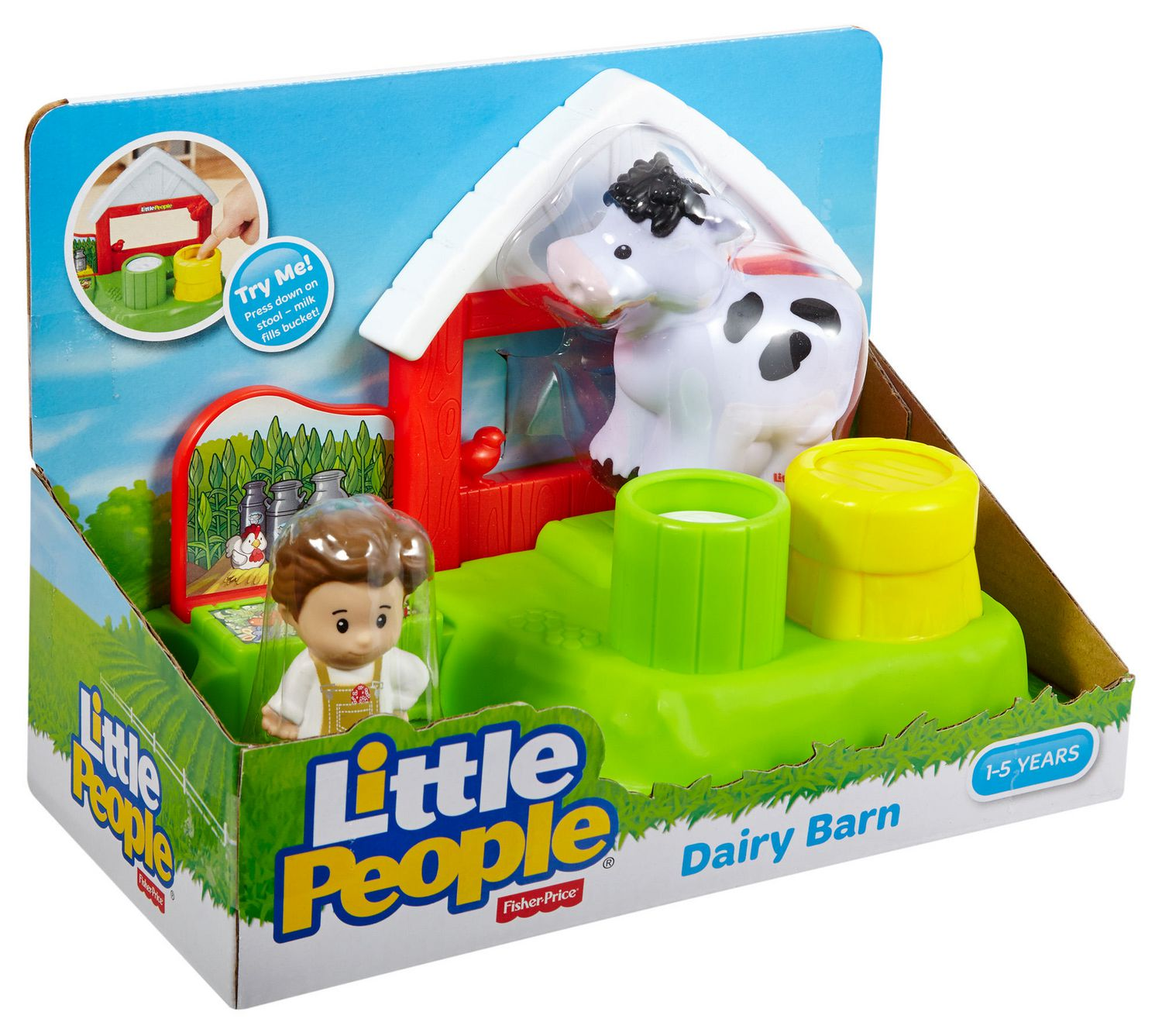 Fisher Price Little People Dairy Barn Playset