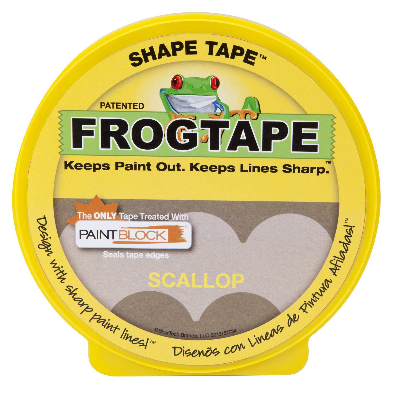 ruban shape tape de frogtape à bordure festonnée   walmart canada