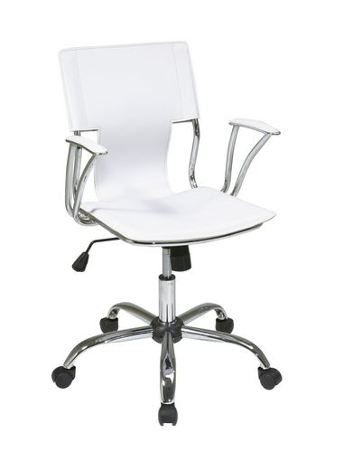 Office Star Products Dorado White Office Chair Walmart Ca