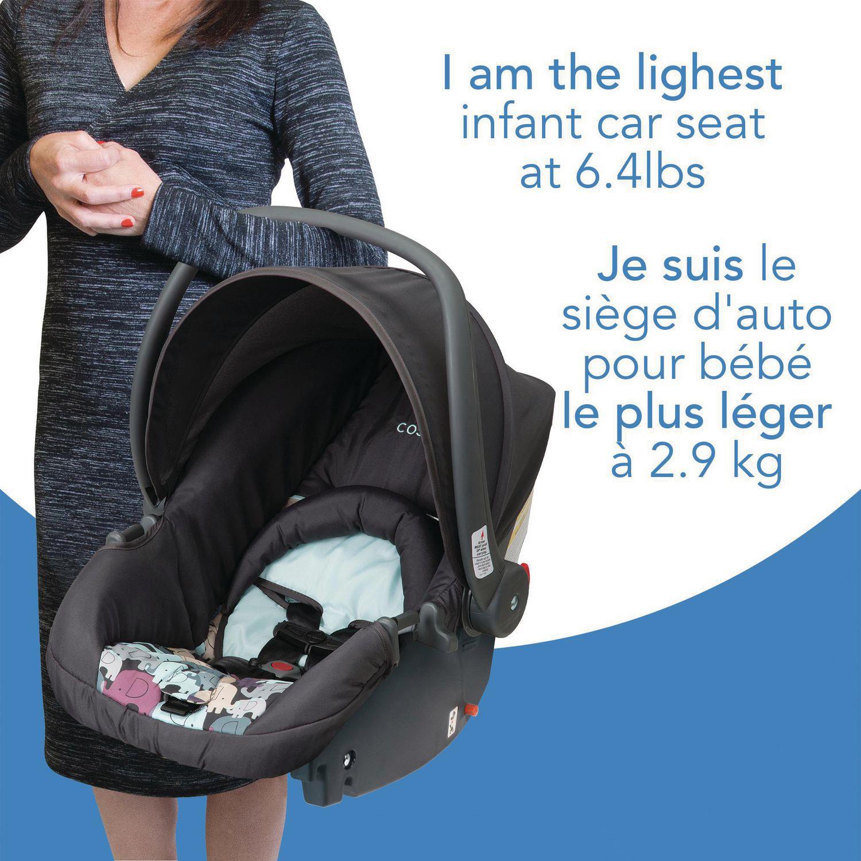 Cosco Light N Comfy Elephant Puzzle Infant Car Seat