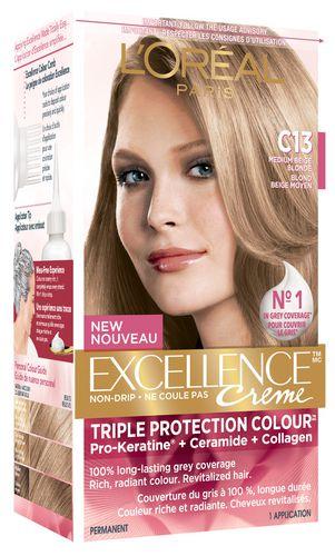 Loréal Paris Excellence Crème C13 Triple Protection Hair Colour