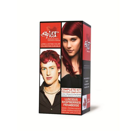 splat rebellious color bleach color kit luscious raspberries - Syoss Coloration Prix