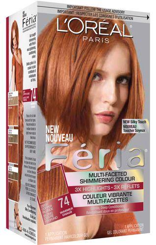loreal feria 74 deep copper blonde walmartca - Coloration Blond Cuivr