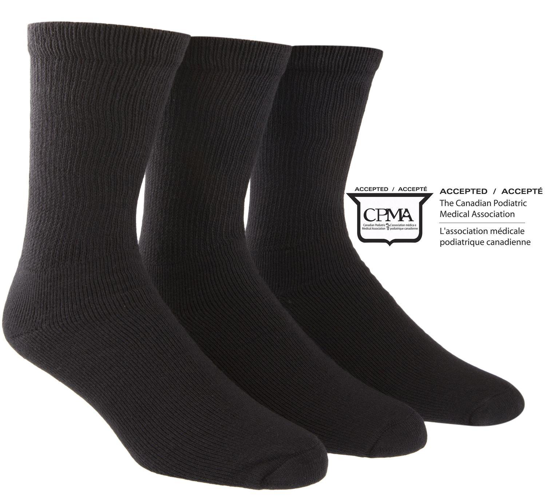 Happy Foot By Mcgregor Men S 3 Pair Health Socks Walmart