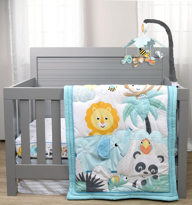 Crib for sale vernon bc - Fisher Price Play All Day Crib Bedding Set