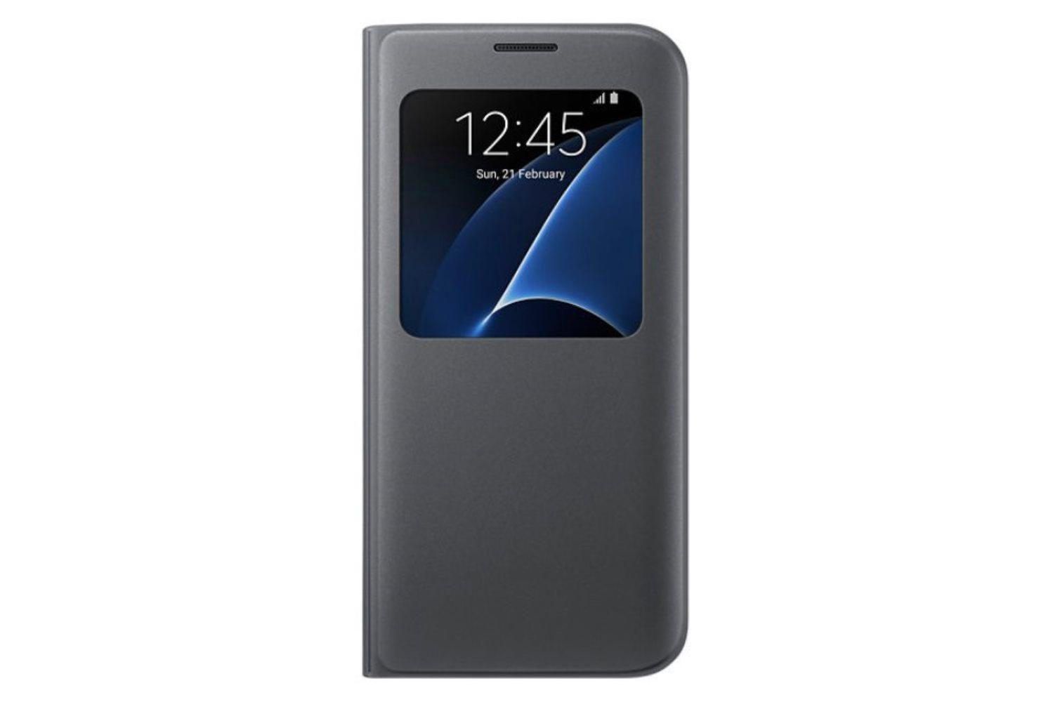 classic fit 43e8c 70f61 Samsung S View Cover Case for Galaxy S7 Edge