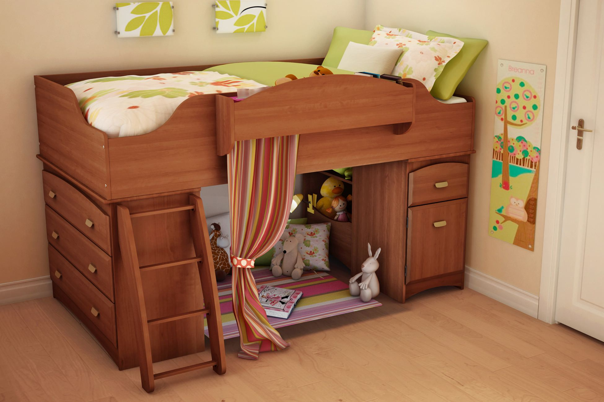 Twin loft bed with storage - Twin Loft Bed With Storage 27