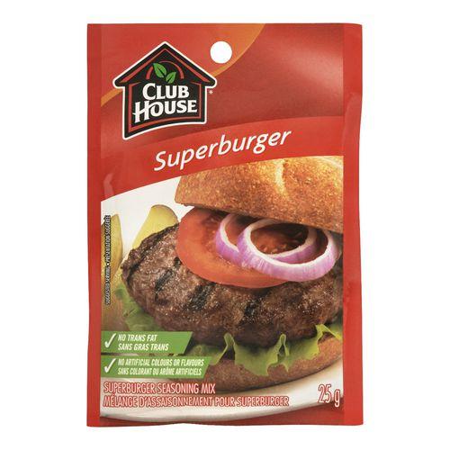 Club House Superburger Seasoning Mix
