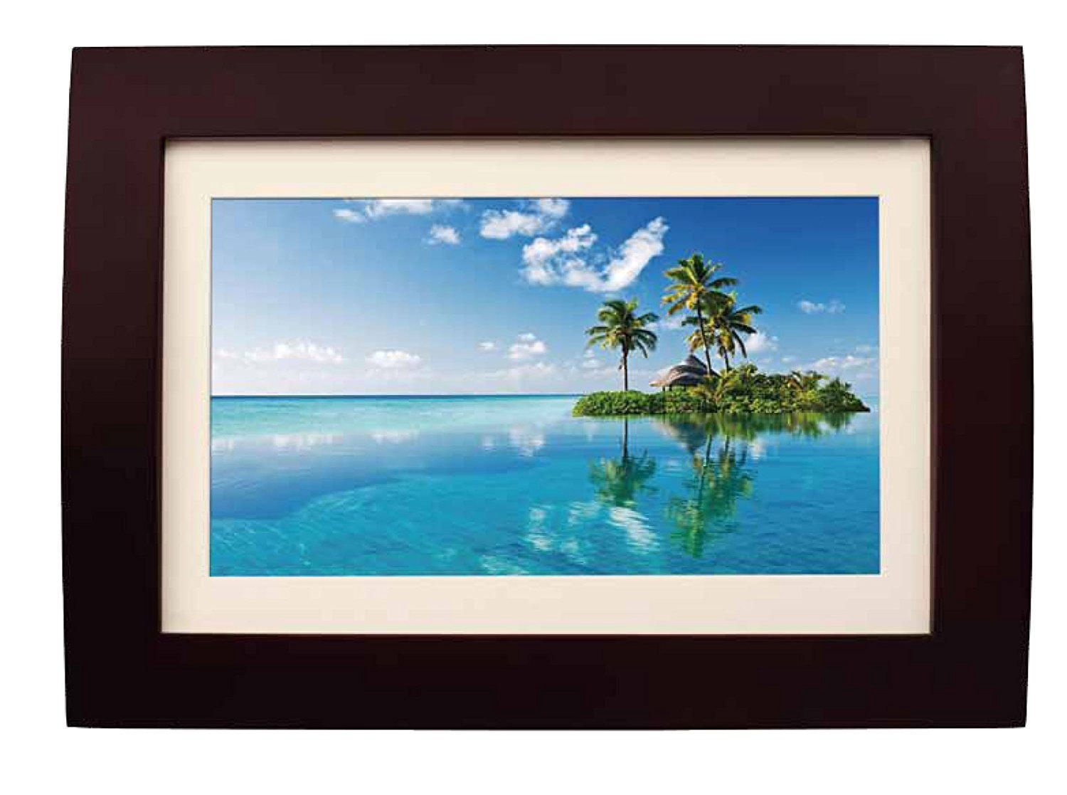 Digital picture frames walmart canada sylvania 10 wood digital photo frame with remote jeuxipadfo Image collections