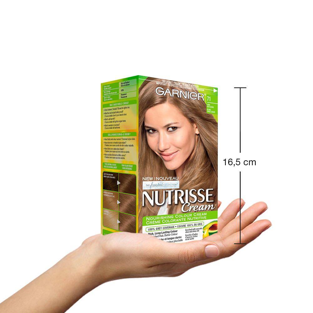 Garnier Nutrisse Cream 71 Dark Ash Blonde Walmart Canada