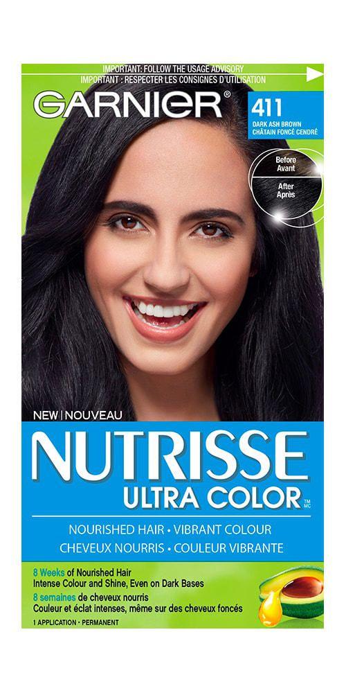 Garnier Nutrisse Ultra Color Dark Ash Brown 411 Walmart Canada