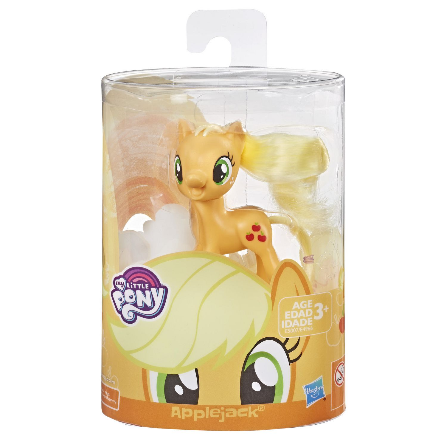 NEW My Little Pony Mane Pony Collection APPLEJACK