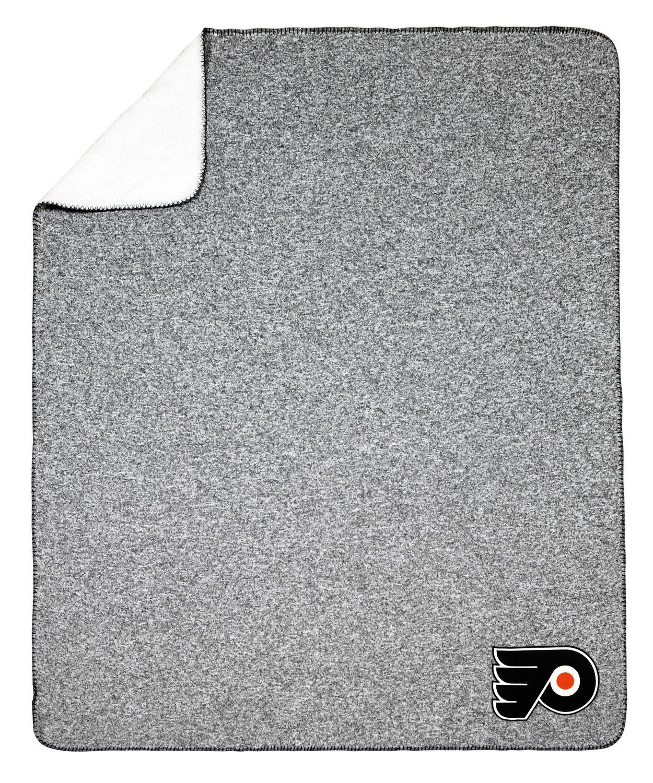 newest c21ef 5f273 NHL Team Crest Sweater Knit Throw - Philadelphia Flyers ...