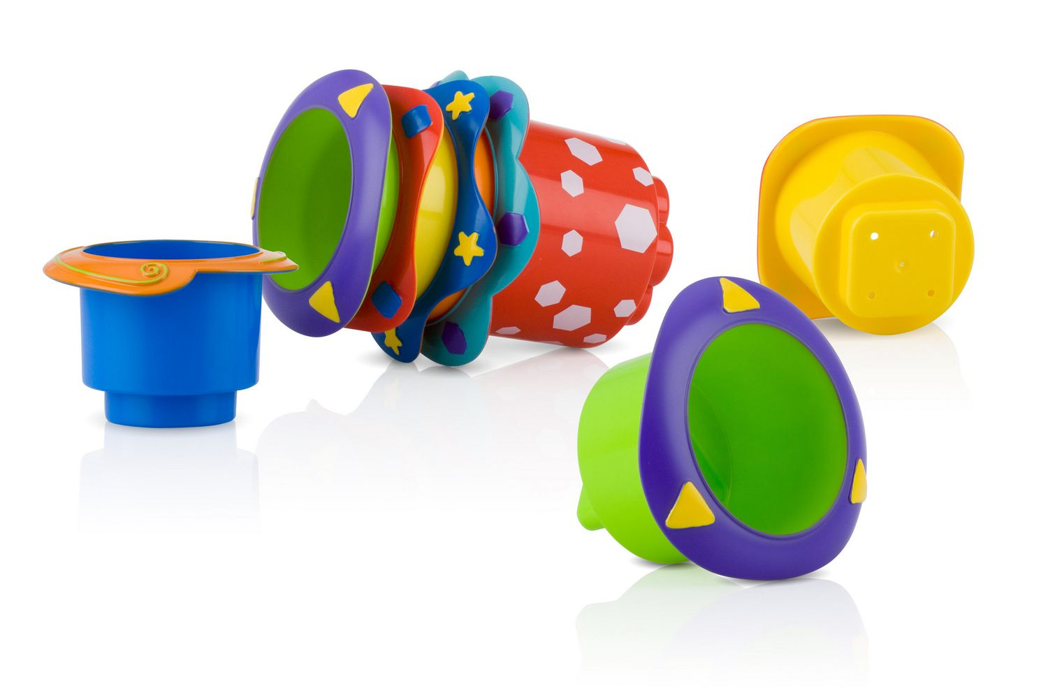 Nûby™ Splish Splash™ Stacking Cups | Walmart Canada