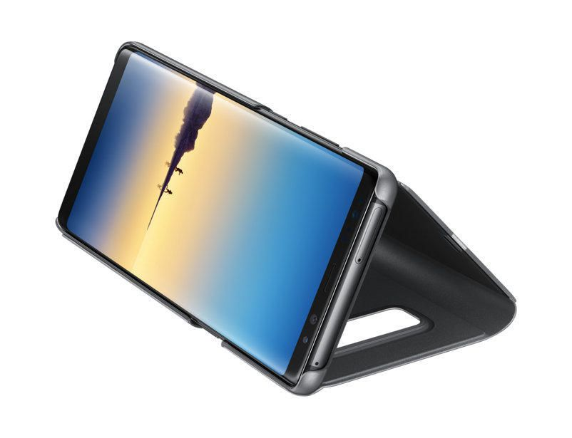 finest selection 77f11 1290b Samsung Clear View Cover With Stand for Galaxy Note 8