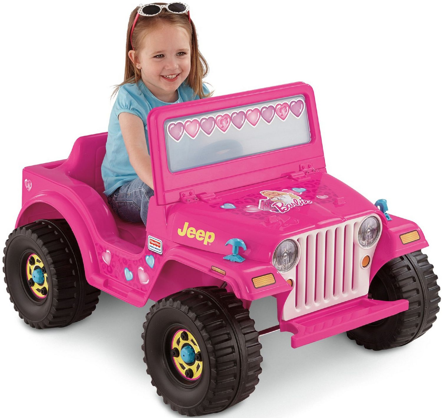 Amazoncom power wheels police car for Fisher price motorized cars
