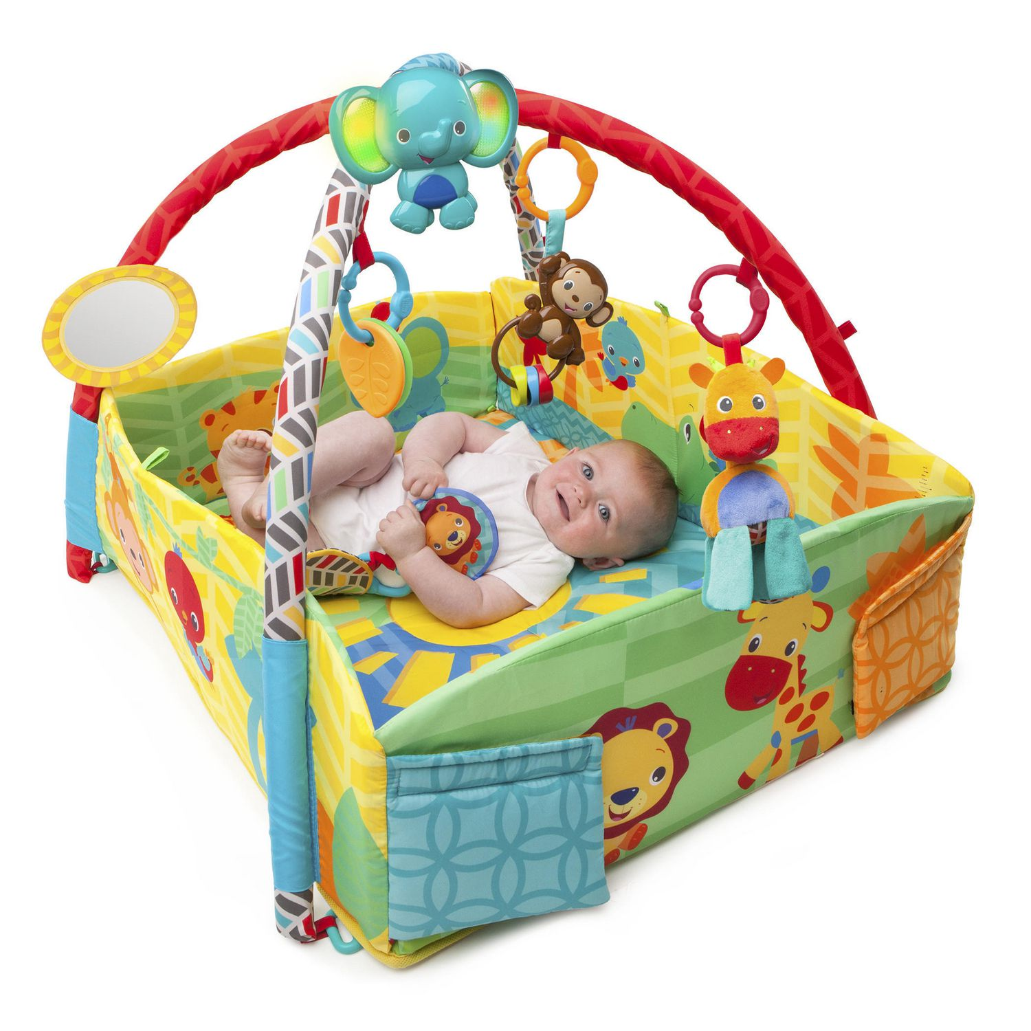 bright starts™ sunny safari™ baby's play place™ activity gym  - bright starts™ sunny safari™ baby's play place™ activity gym  walmartca
