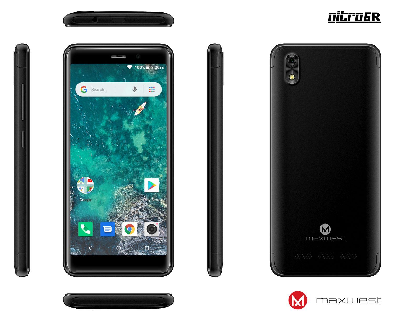Maxwest Nitro 5 0 Unlocked Phone Black