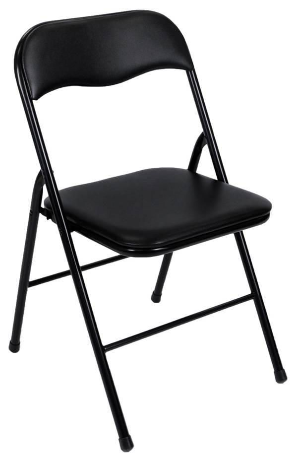 sc 1 st  Walmart Canada & Cosco Vinyl Folding Chair Black | Walmart Canada