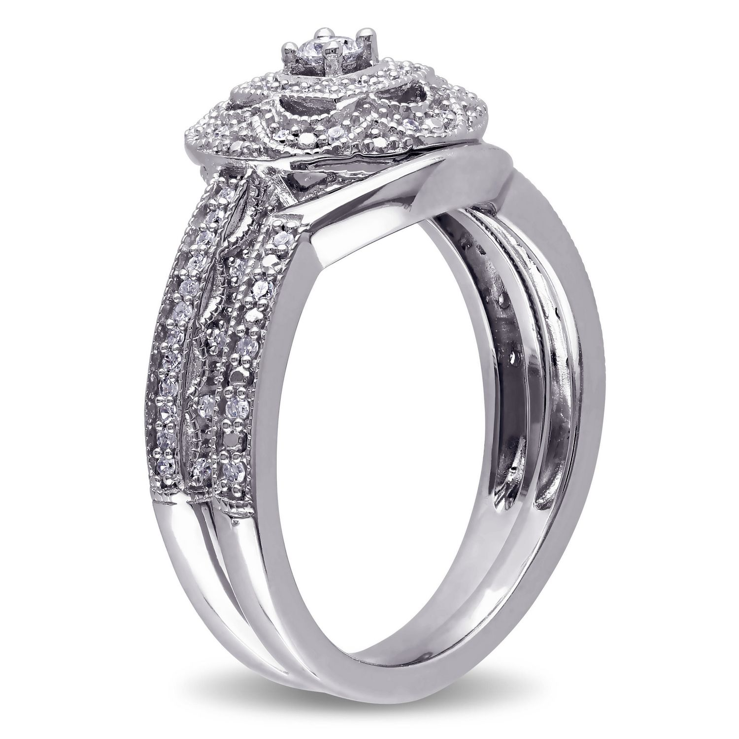 featured g cut carat engagement miabella square zirconia rings t w inspirations photo and cubic throughout walmart round of