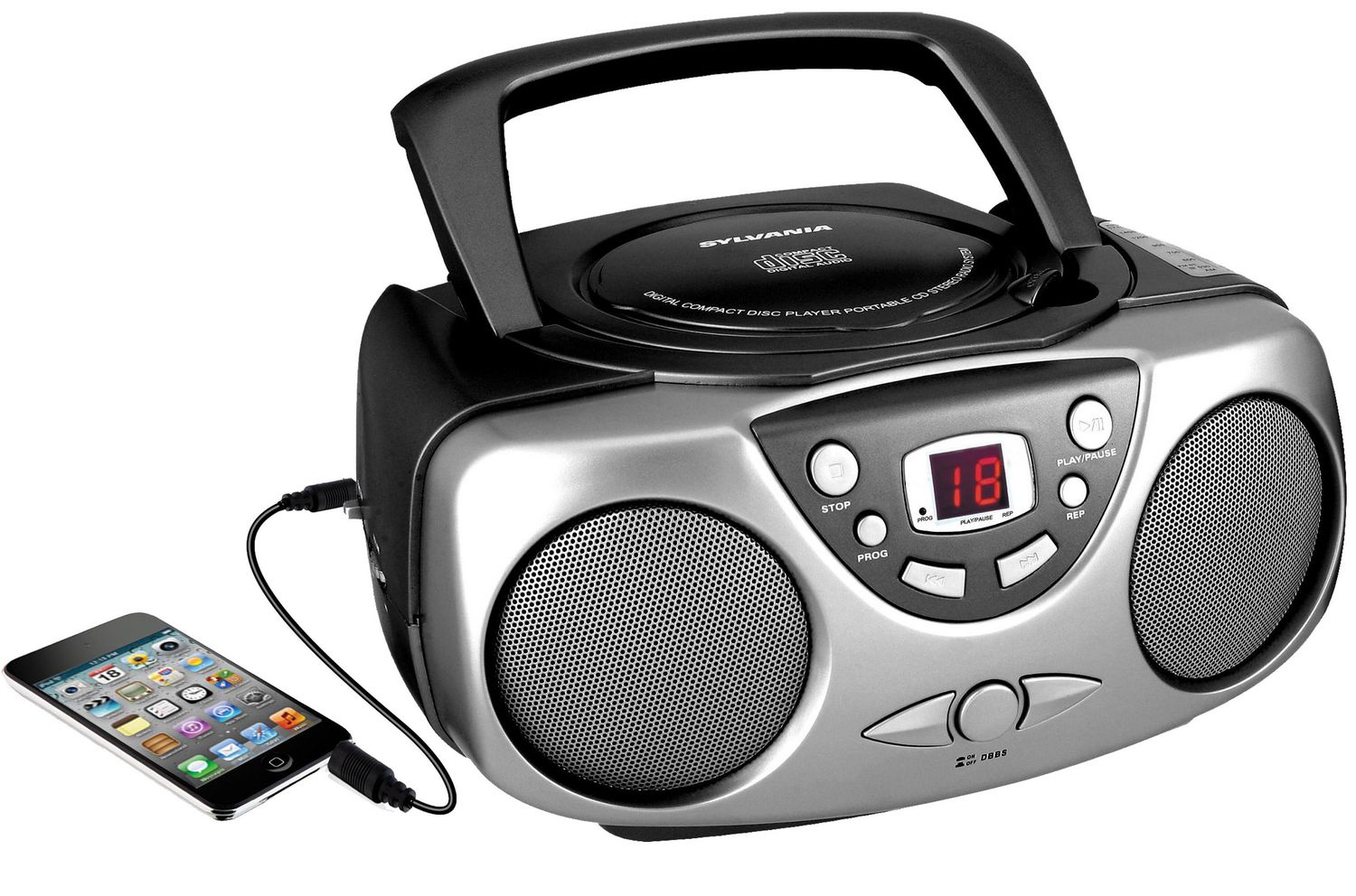 Sylvania Portable CD Player with AM/FM Radio | Walmart Canada