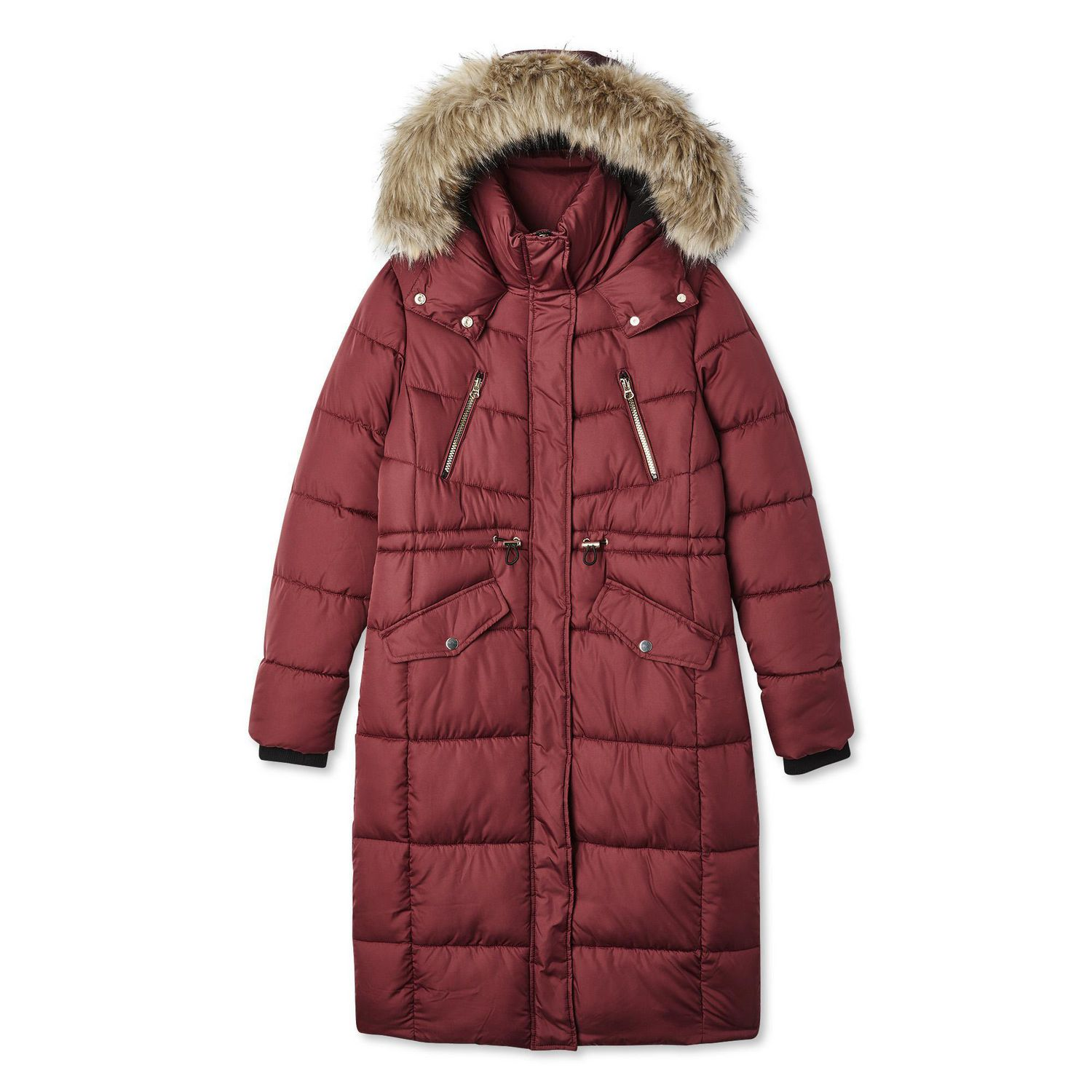 George Women's Long Quilted Parka