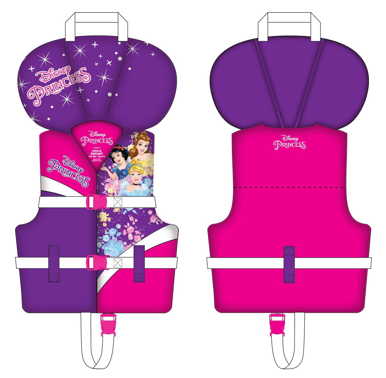 haute couture meilleur prix ventes spéciales Veste de flottaison brevetée des Princessse Disney pour enfants