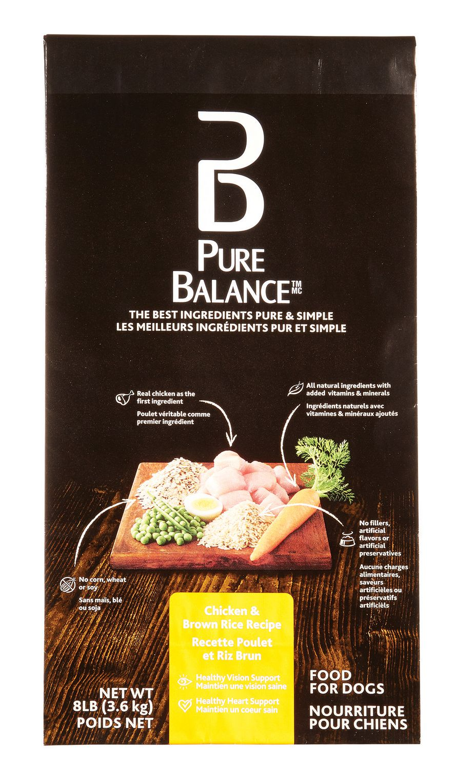 Pure balance chicken brown rice dog food walmart canada forumfinder Gallery