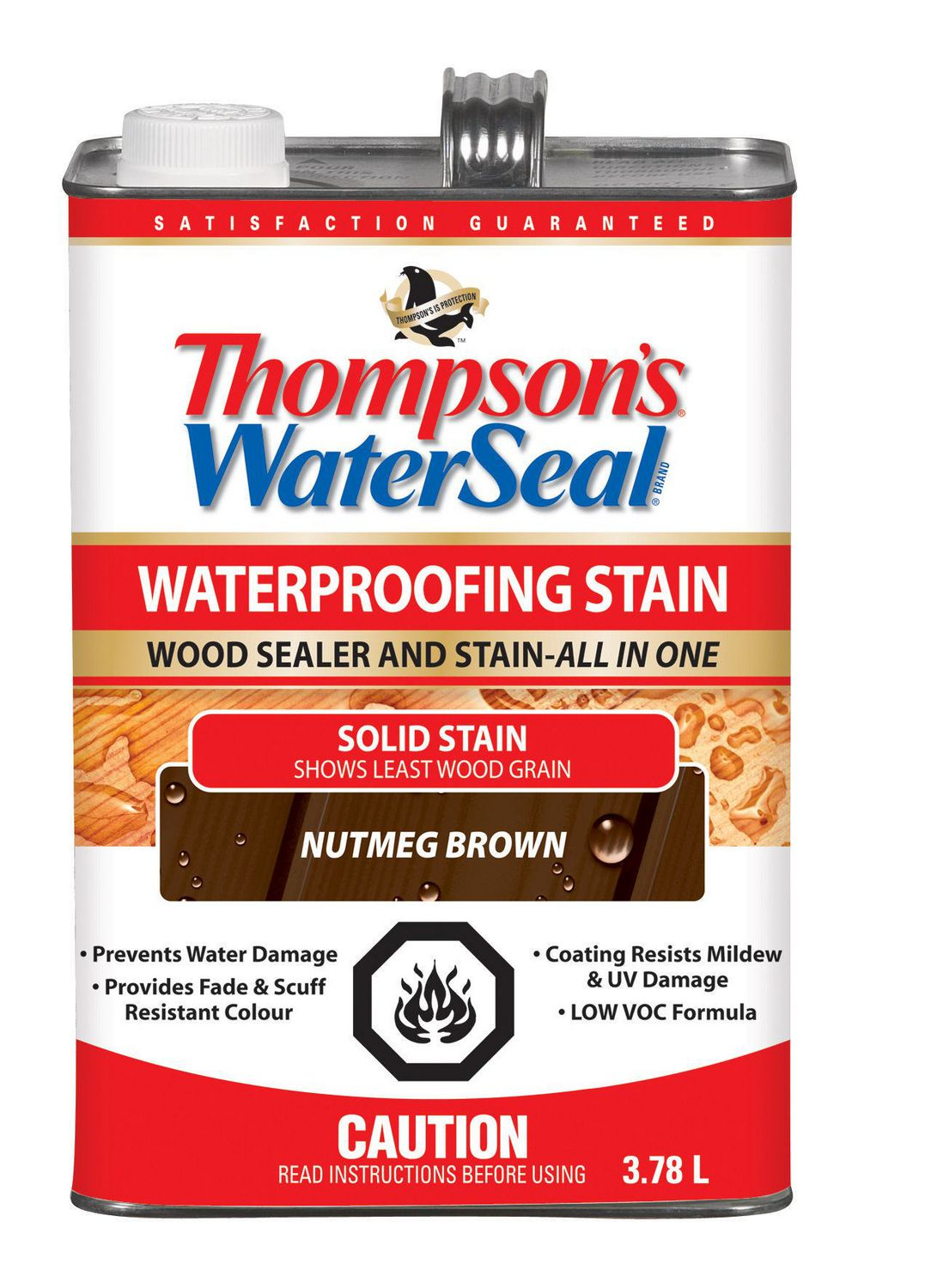 Walmart Furniture Online: Thompson's WaterSeal All In One Waterproofing Stain And