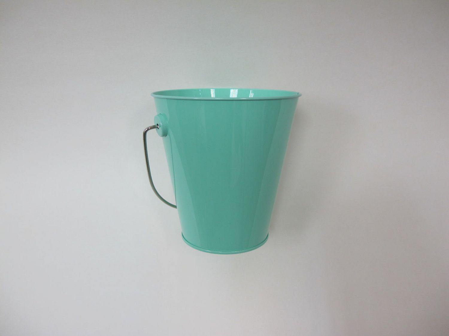 Tin Pail with Wire Handle | Walmart Canada