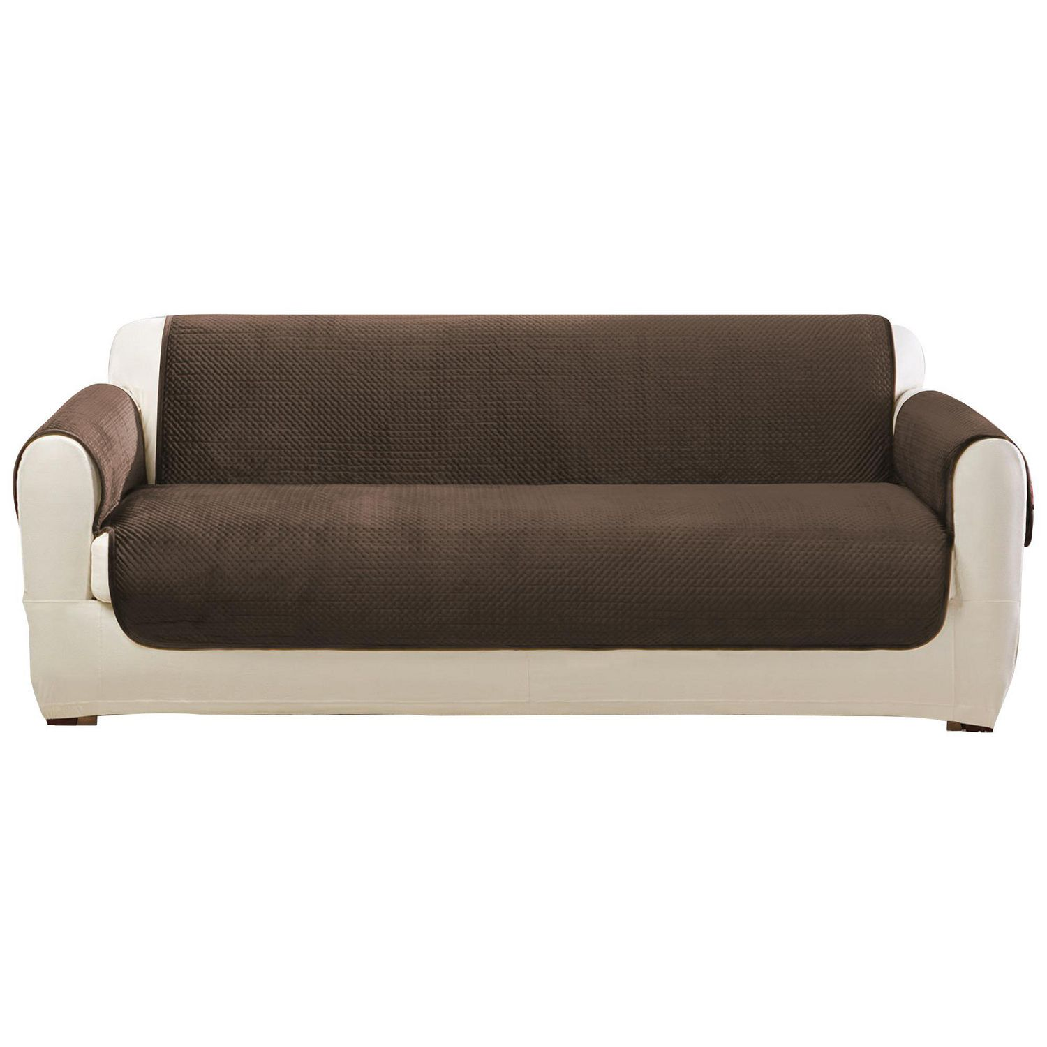 Sure fit elegant pick stitch sofa furniture cover walmart canada