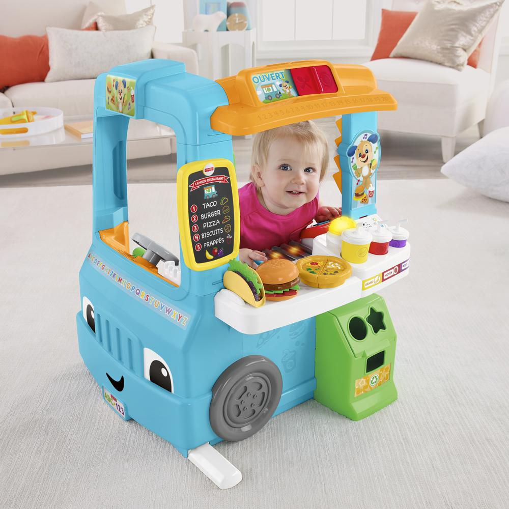 Fisher-Price Laugh & Learn Servin\' up Fun Food Truck - French ...