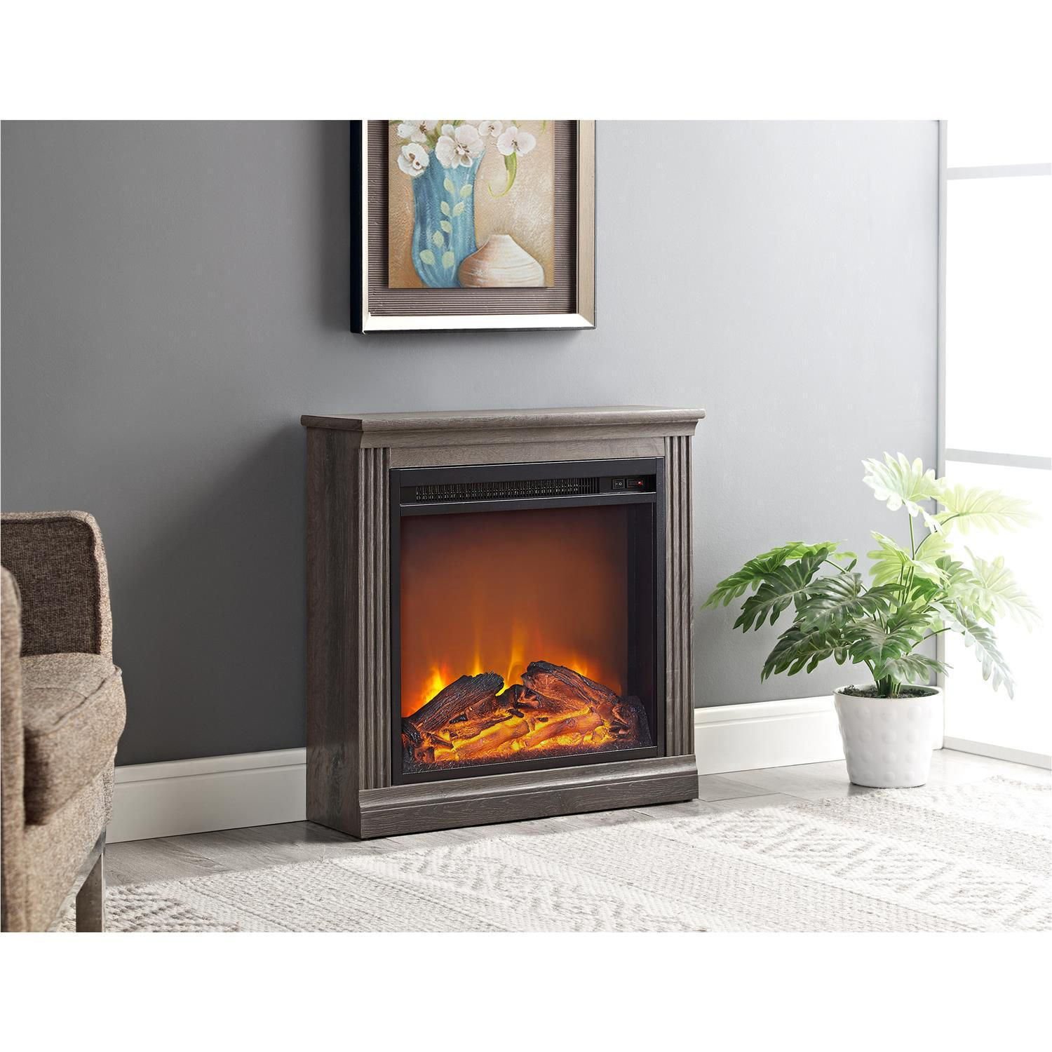home large flame real insert improvement wayfair fireplace electric reviews chateau pdx corner