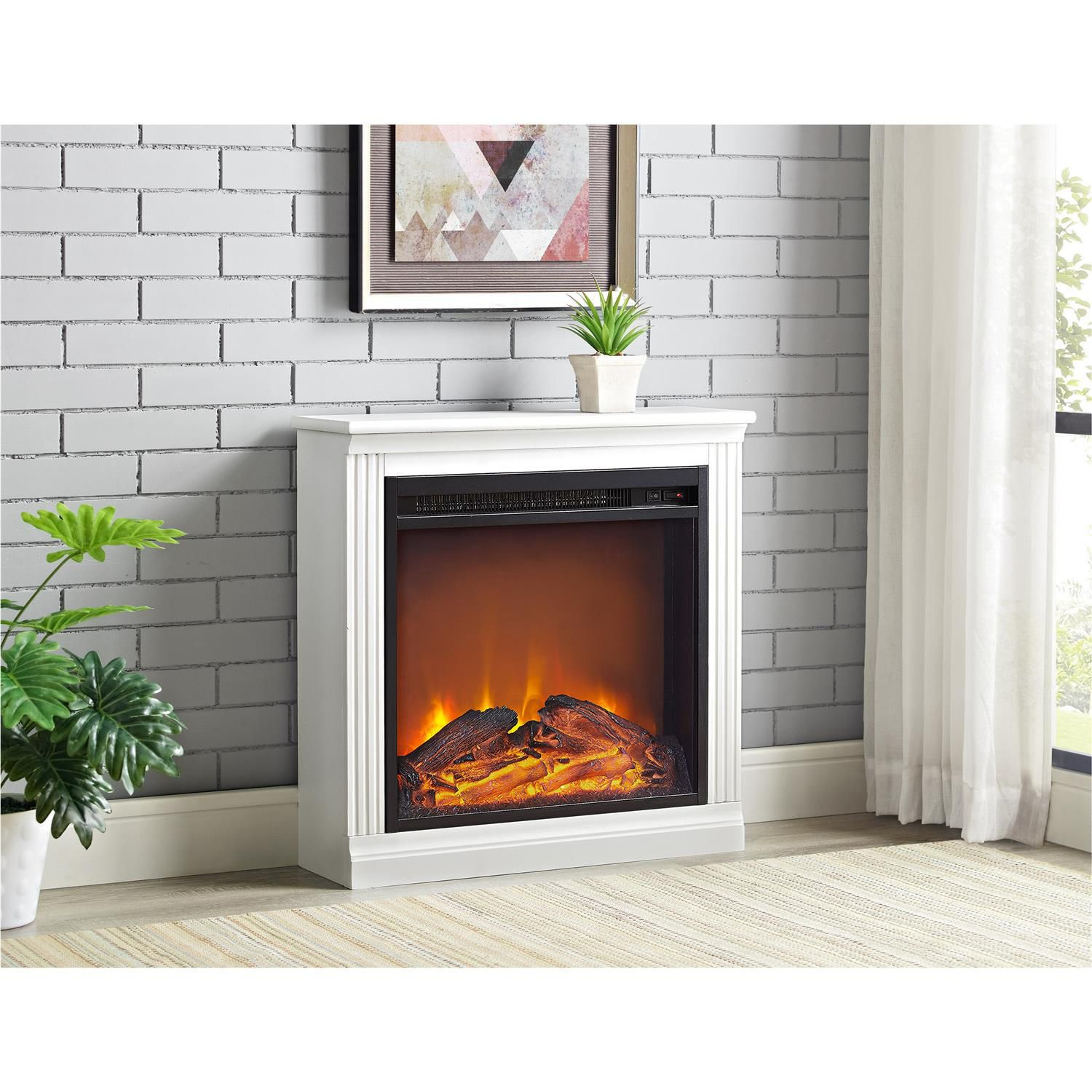 knox curio white fireplaces antique towers curios fireplace and electric