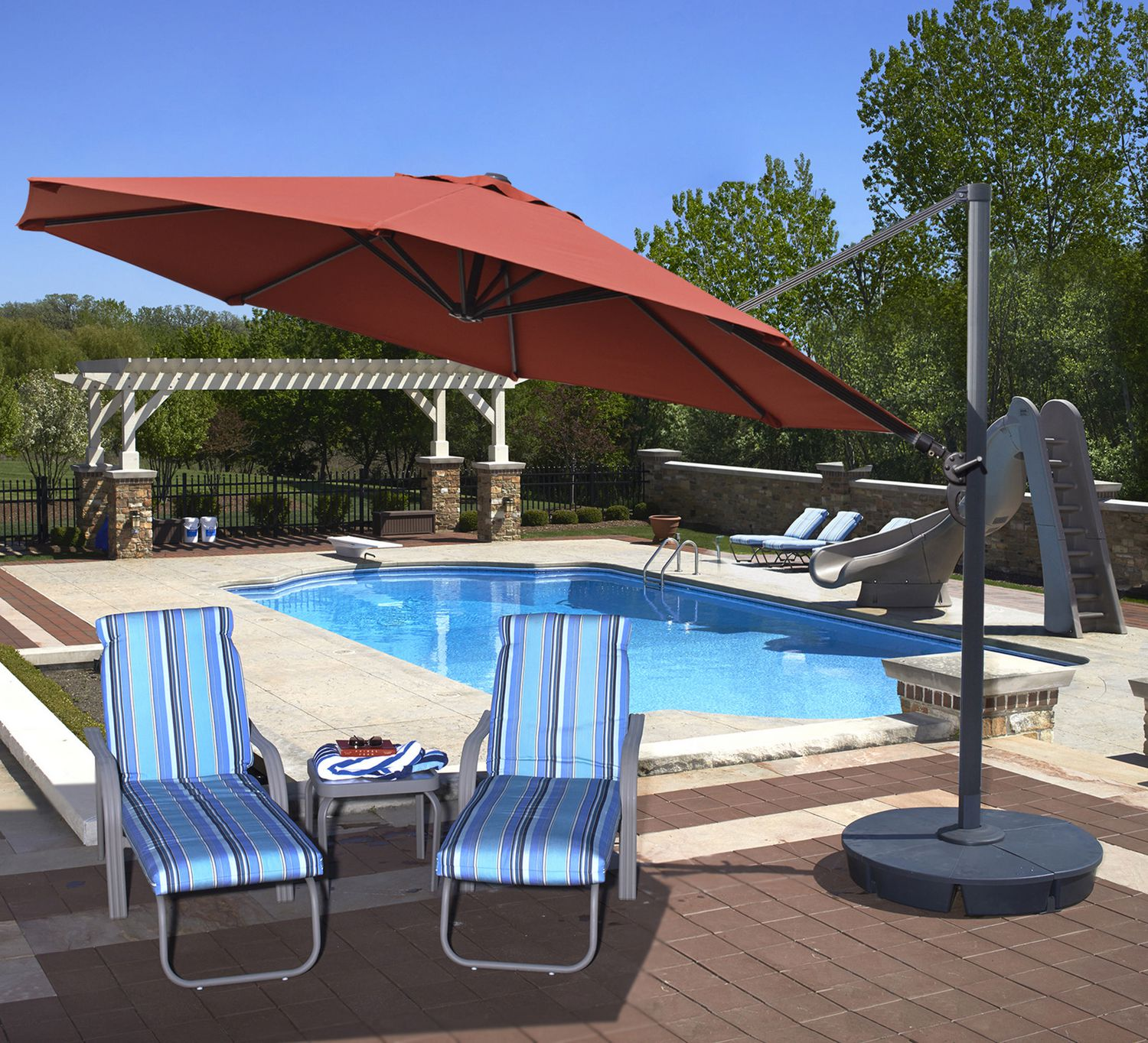 products offset umbrella patio market hanging best outdoor multiple colors new choice