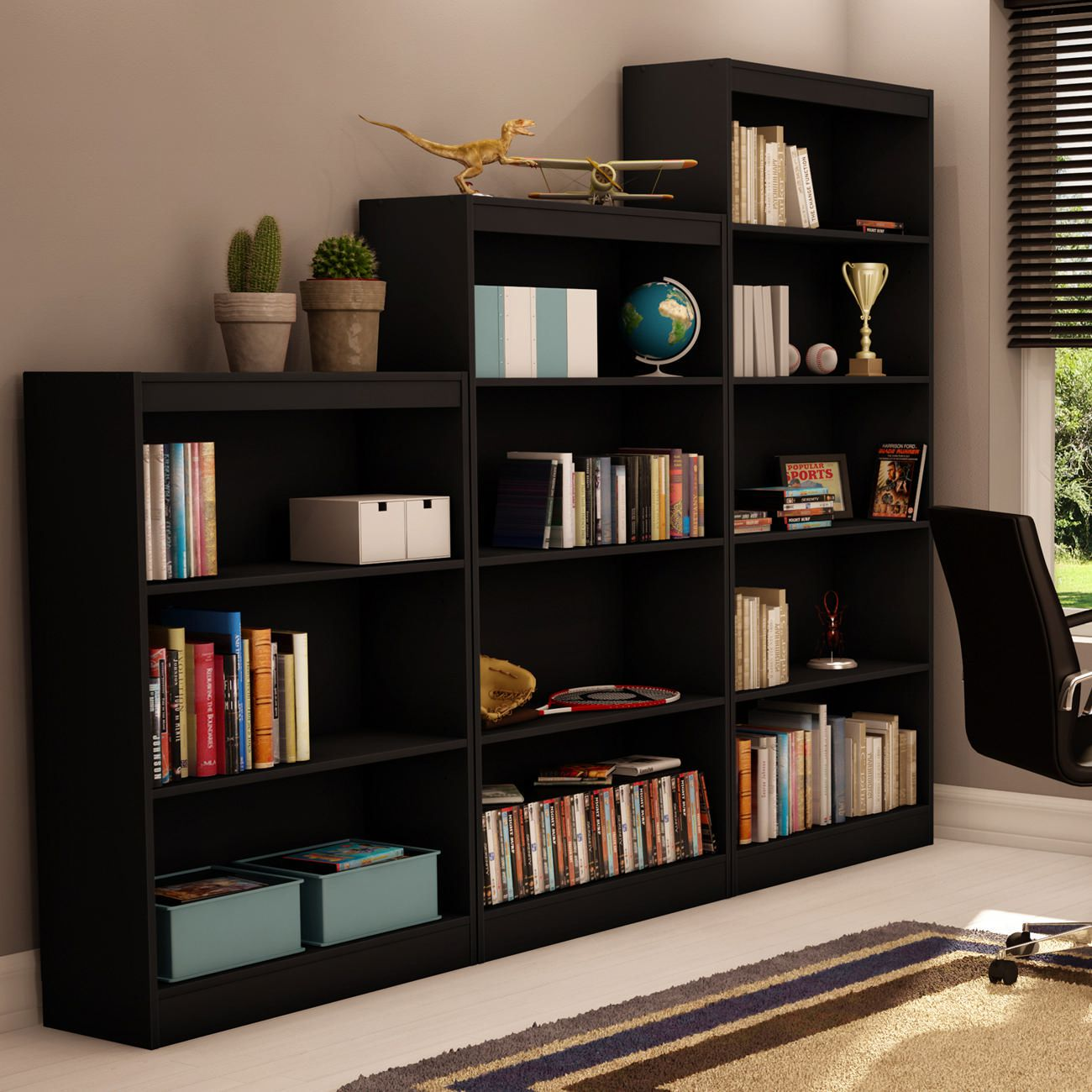 bookcase pure white south shore shop shelf furniture axess at pd