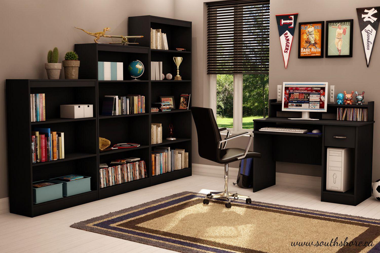South Shore Smart Basics 4 Shelf Bookcase