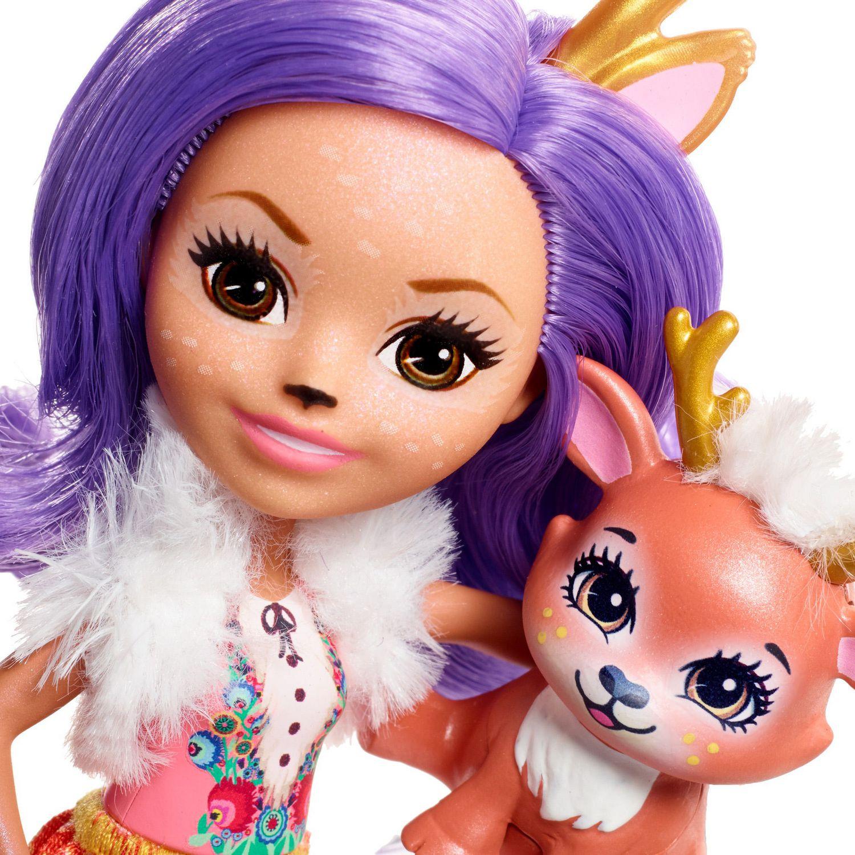 """Enchantimals Danessa Deer /& Sprint Doll 6/"""" New"""