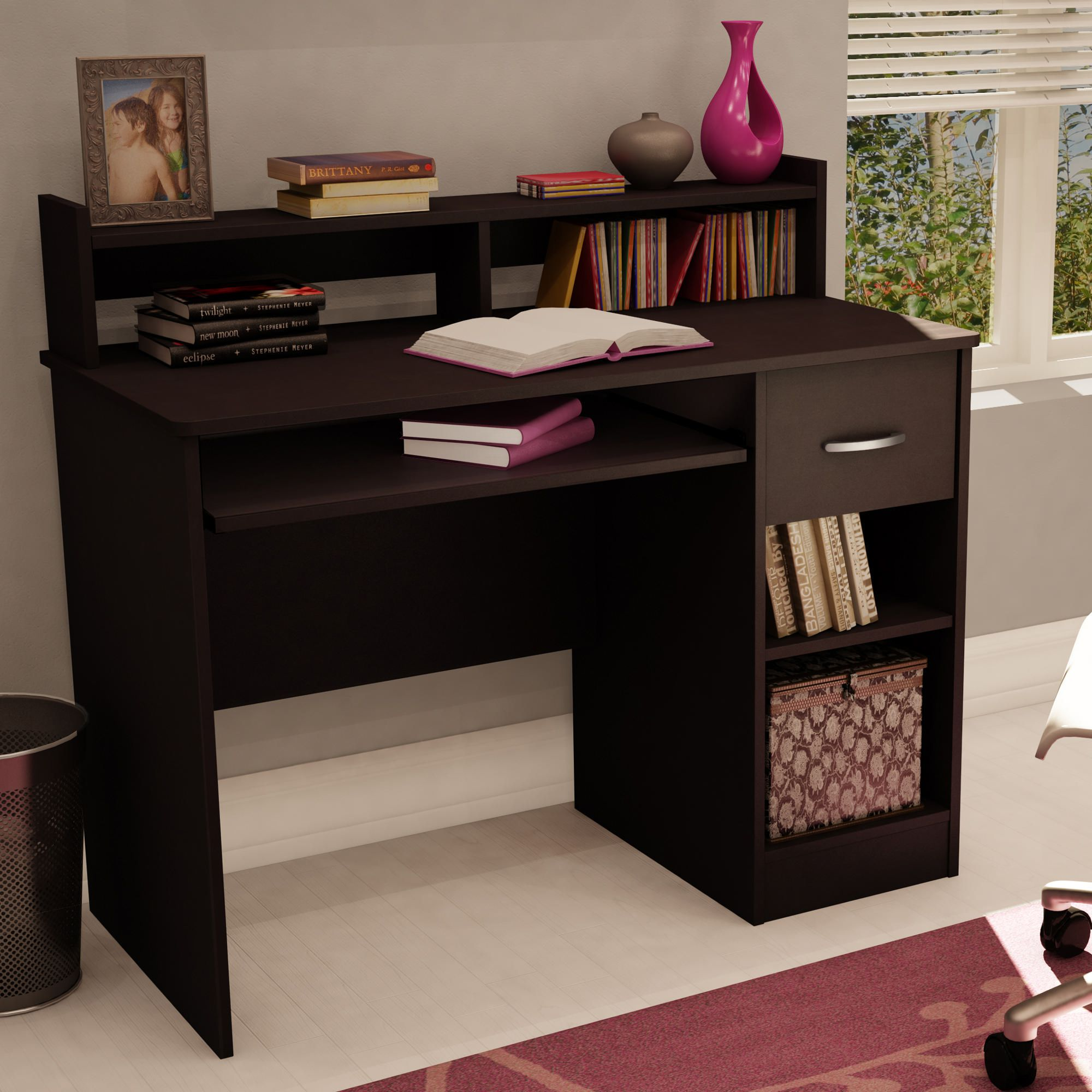 great of laptop desk seat writing small bedroom elegant with drawer red nowadays corner spaces for