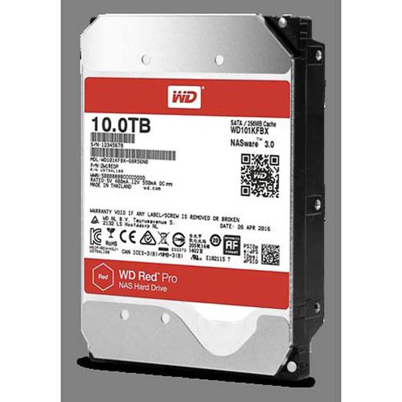 "Western Digital Red Pro 3.5"" 10 TB Internal NAS Hard Drive ..."