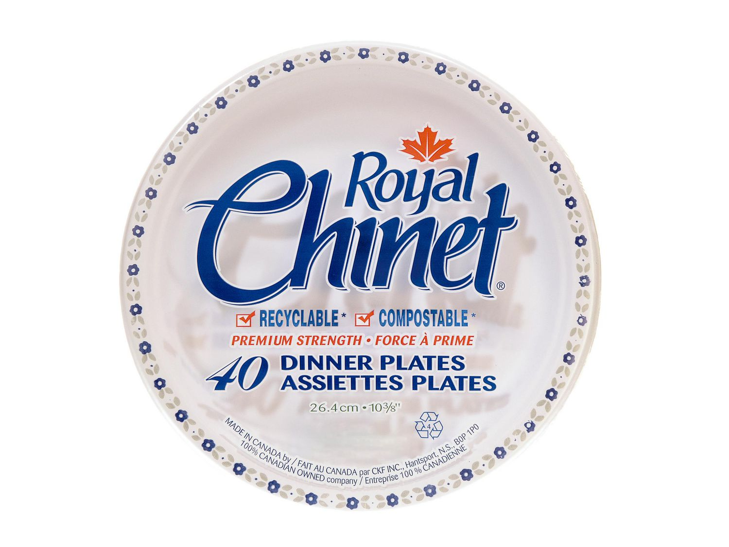 Royal Chinet Dinner Plates | Walmart Canada
