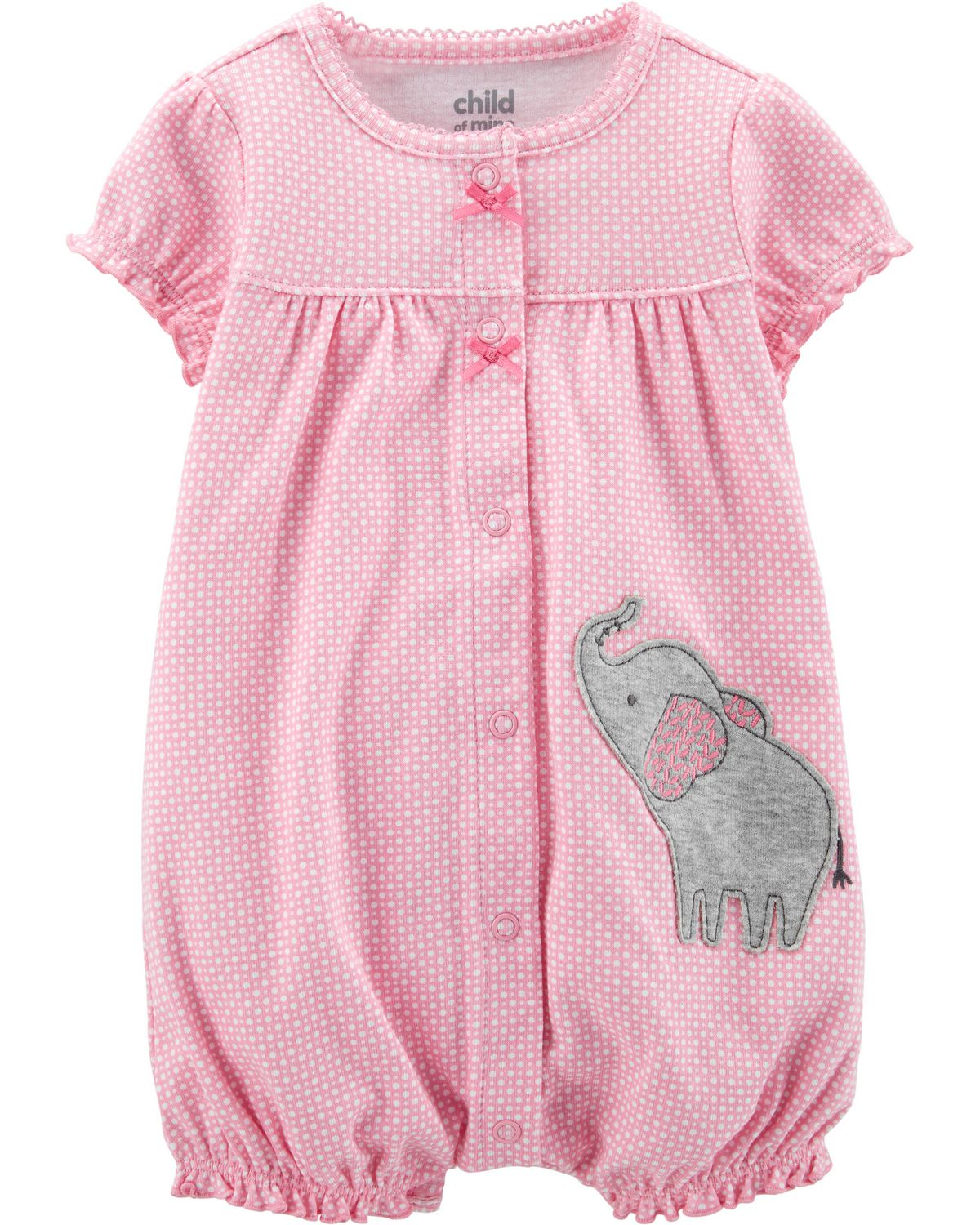 Child of Mine Carters Baby Girls Romper