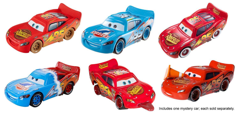 Disney pixar cars lightning mcqueen vehicle styles may vary walmart canada - Auto flash mcqueen ...