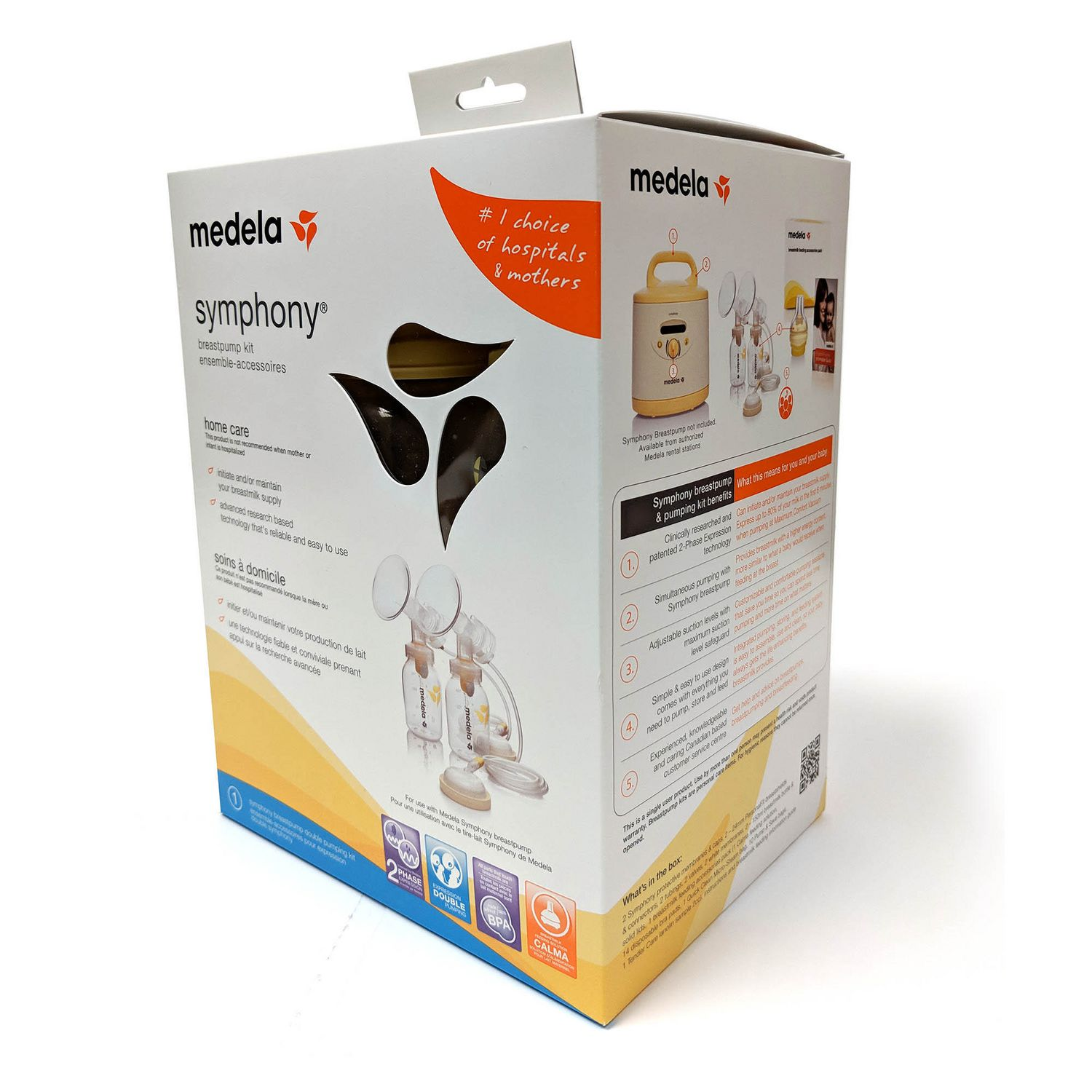 Medela Symphony Double Breastpump Kit  Walmart Canada-6341
