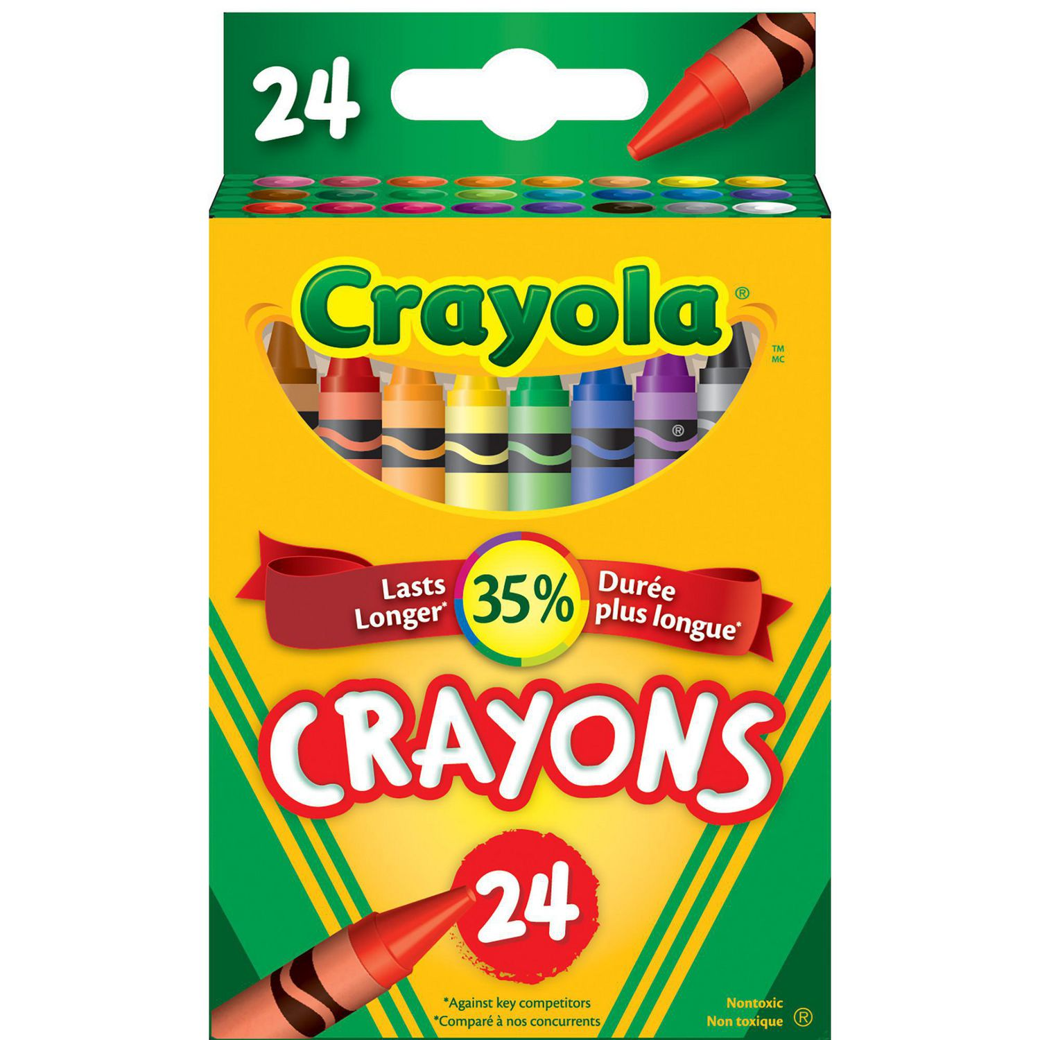 crayola 24 mini twistable crayons walmart canada